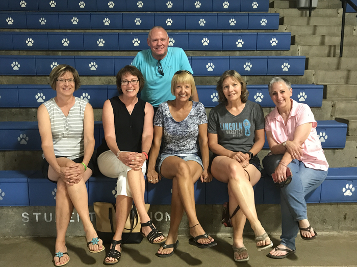 The Blue Hill class of 1978 came back to their old stomping grounds!