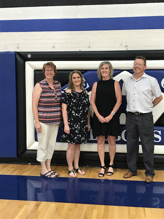 Blue Hill class of 1983 came back to tour the school!