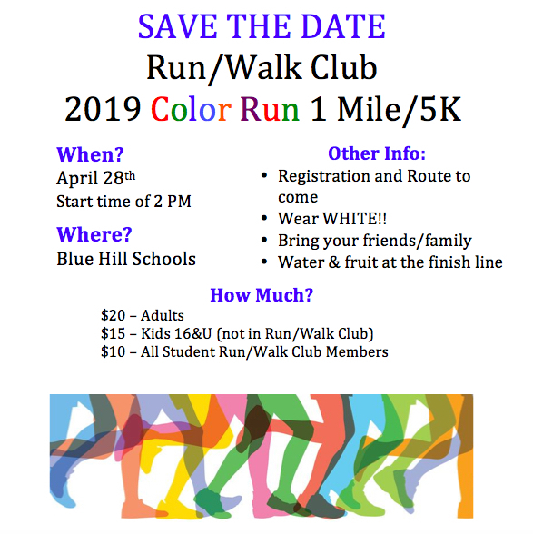 Save the Date - Color Run