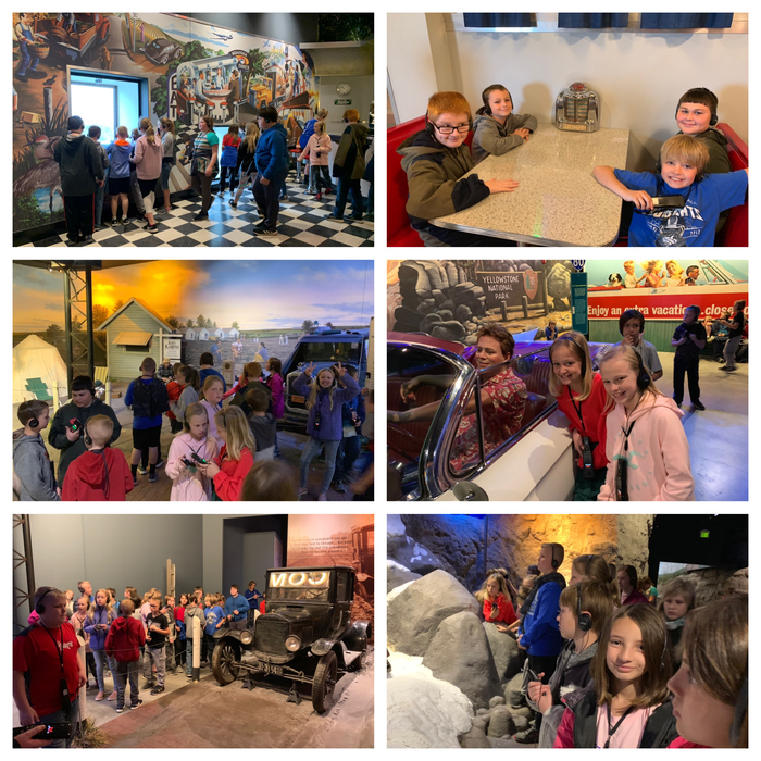 4th Grade had a wonderful time exploring the Archway this morning!