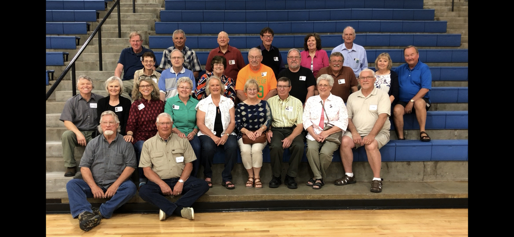 The class of 1969, and a few teachers from that year, made their way back to Blue Hill for their 50th class reunion!